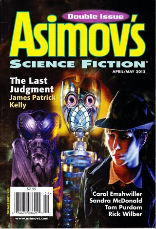 Asimov's Something Real cover