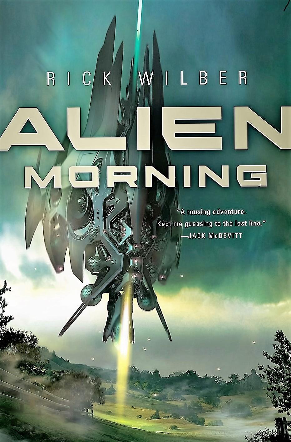 Alien morning cover