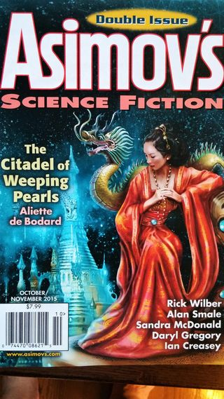Oct 2015 Asimov's cover