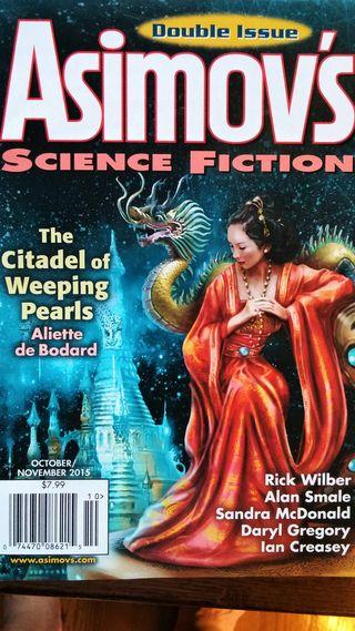 Oct 2015 Asimov's cover